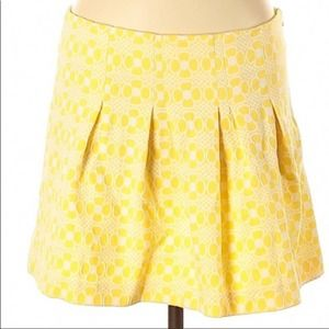 Lily Pulitzer Yellow  Leila Skirt